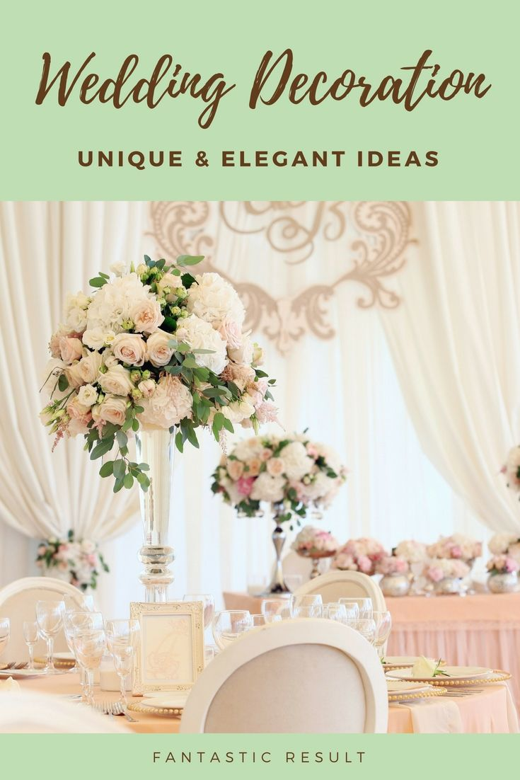 Wedding dinner decoration ideas  Decorate Your Current Wedding Dinner With These New Budget Friendly