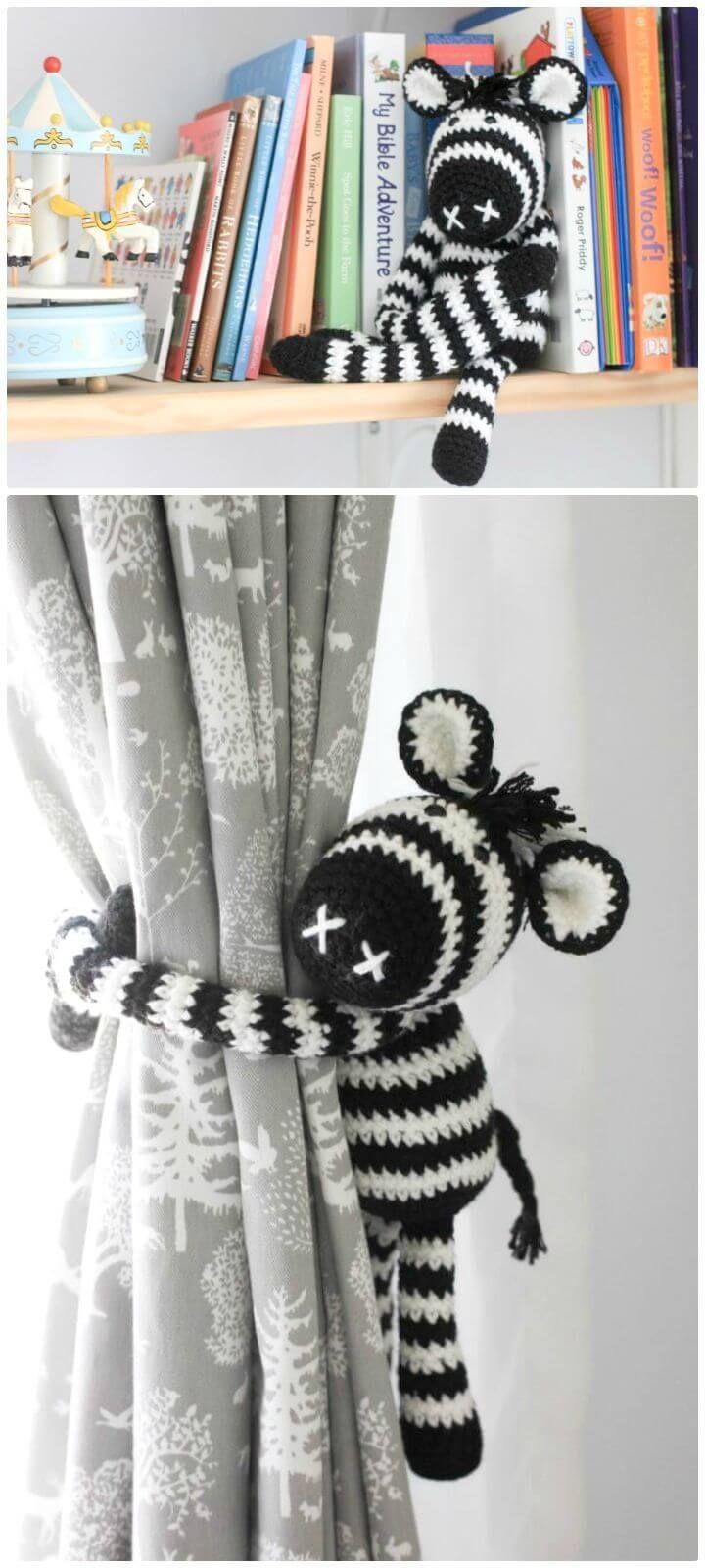 26 Free Crochet Zebra Patterns / Hat, Blanket, Amigurumi | Amigurumi ...