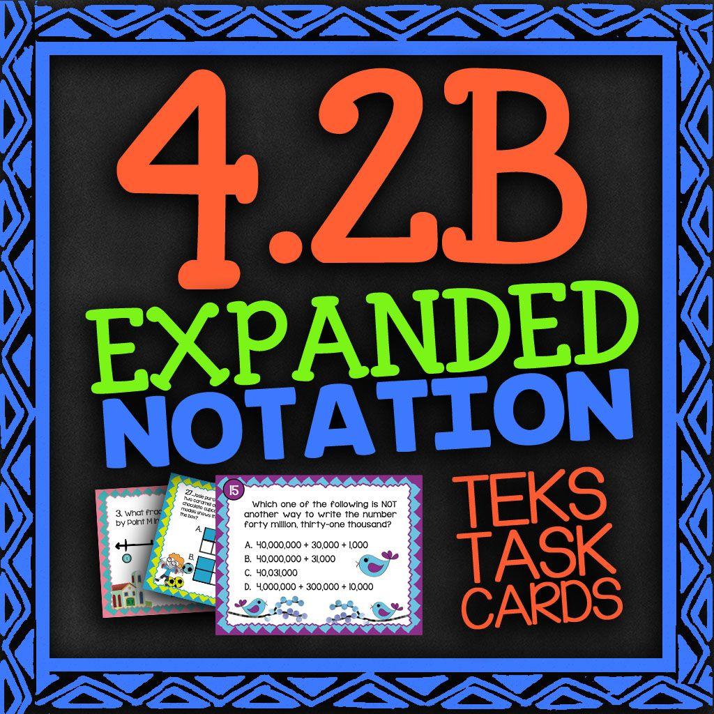 Pin On Teks Math Task Cards