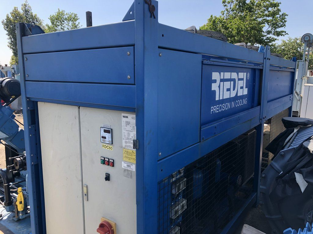 2002 Riedel Pc 2000 01 Ne Water Chiller Excellent Condition 30 Ton
