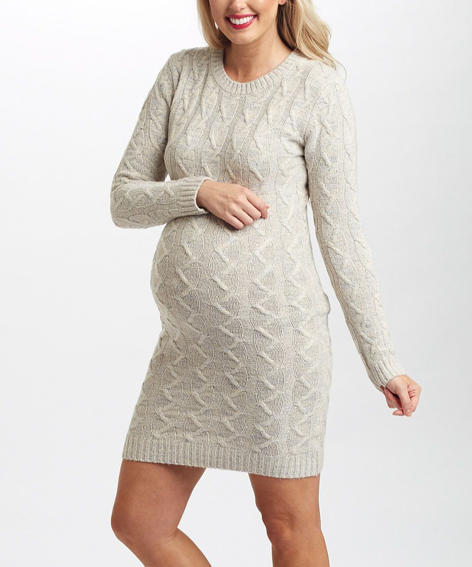 Look at this zulilyfind pinkblush ivory cableknit