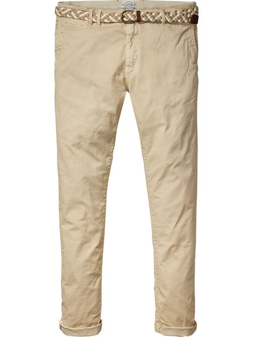 Scotch & Soda   Warren - Twill Chinos  Relaxed Slim Fit