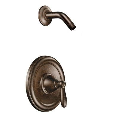MOEN Brantford 1-Handle Posi-Temp Shower Only with Showerhead Not Included in Oil Rubbed Bronze (Valve not included)-T2152NHORB - The Home Depot