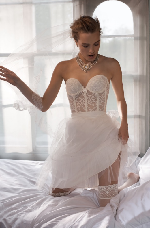 Featured Wedding Dress Lingerie: BHLDN #bridallingeriecollection ...