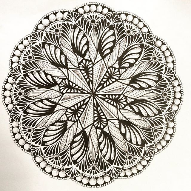 Balance is the name of the game | Coloring pages, Mandala ...