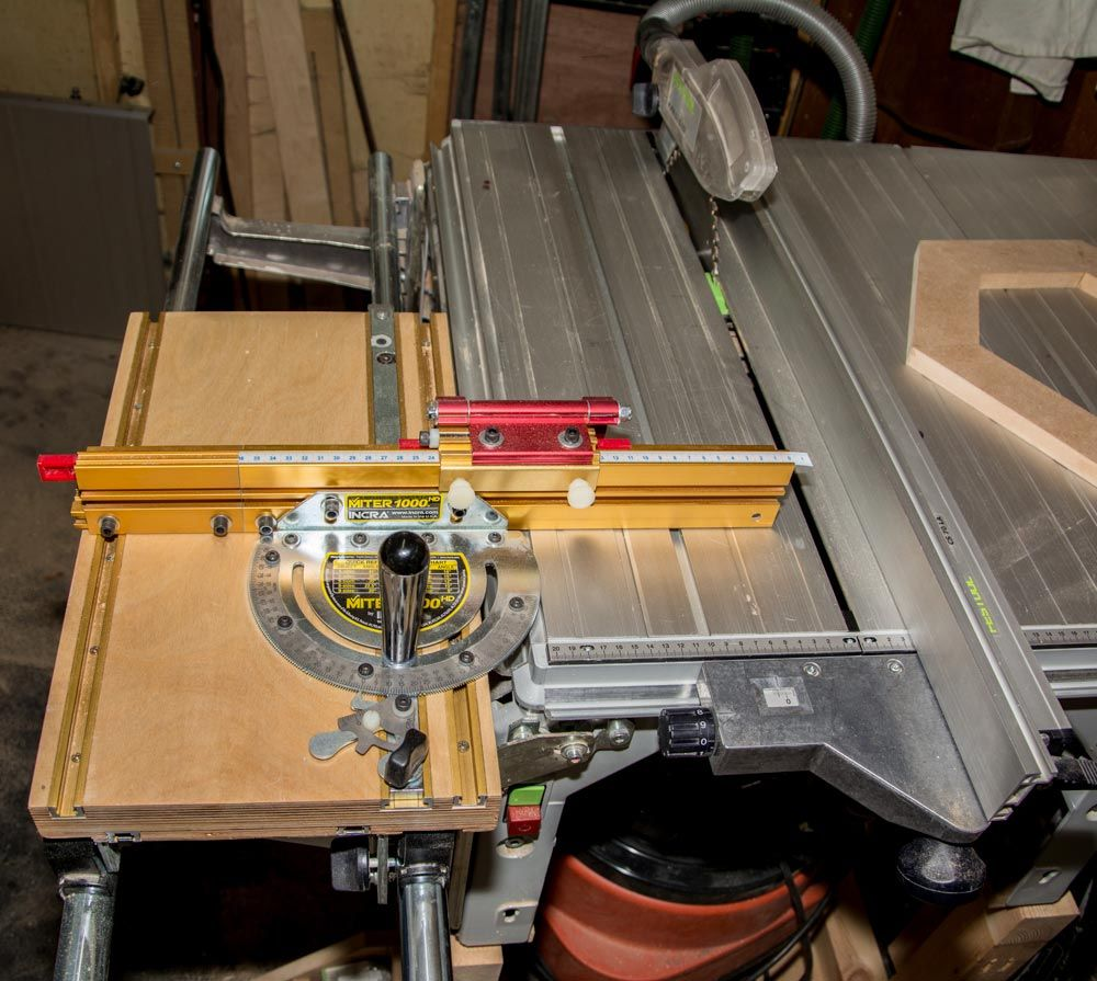 How to Build a Mitre Fence Extension Attachment Table