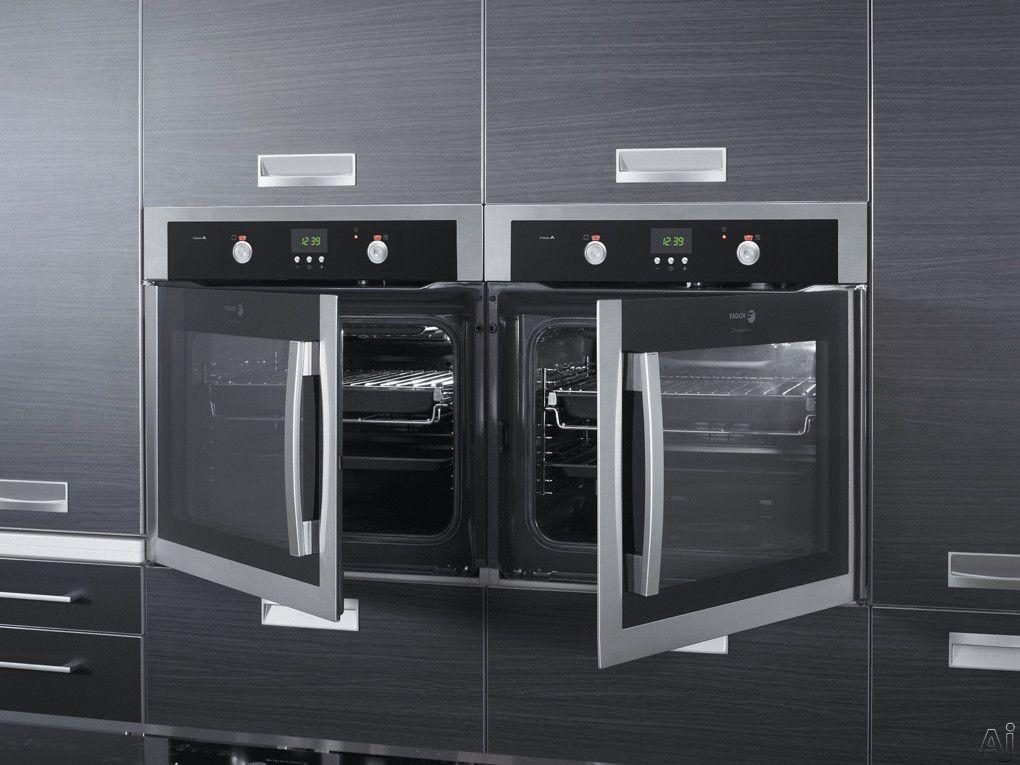 side opening door wall oven