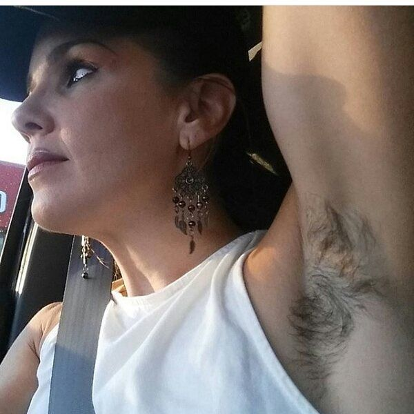 Sexy hairy wife