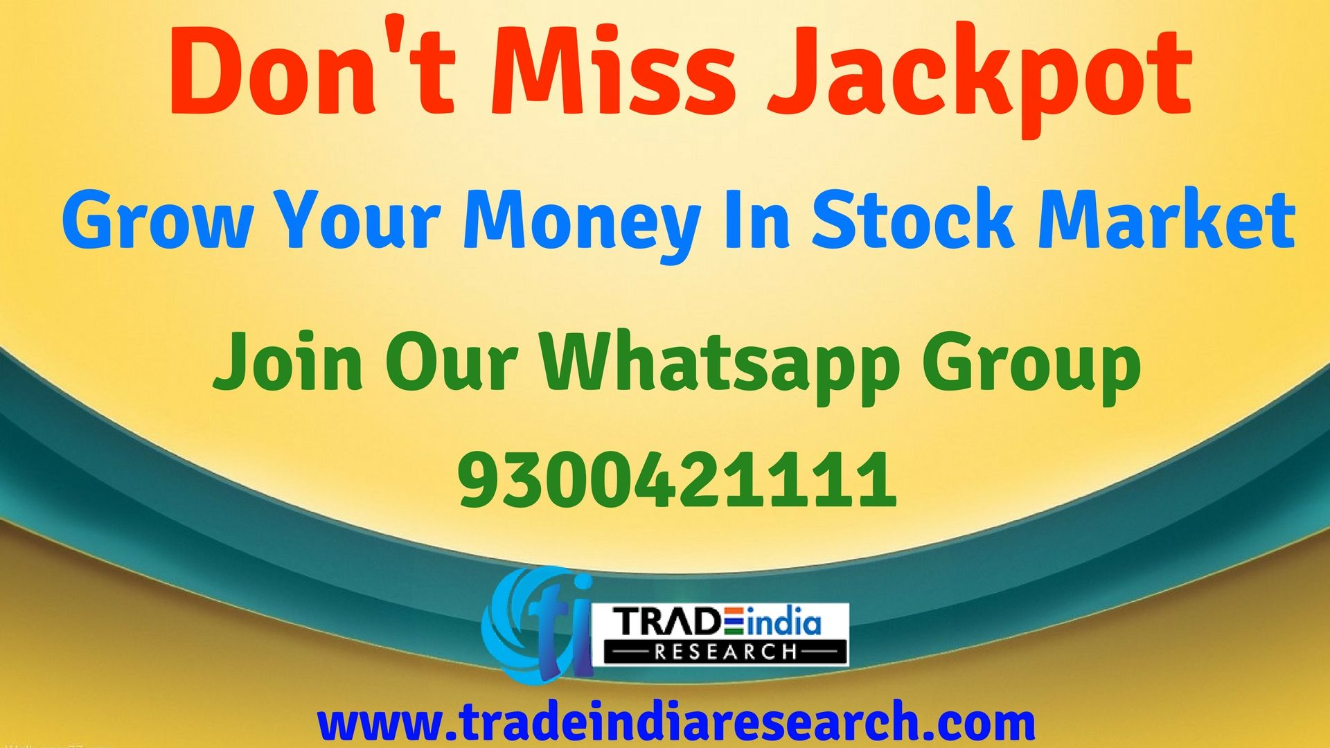 If You Want To Earn Money In Stock Market  Give Misscall
