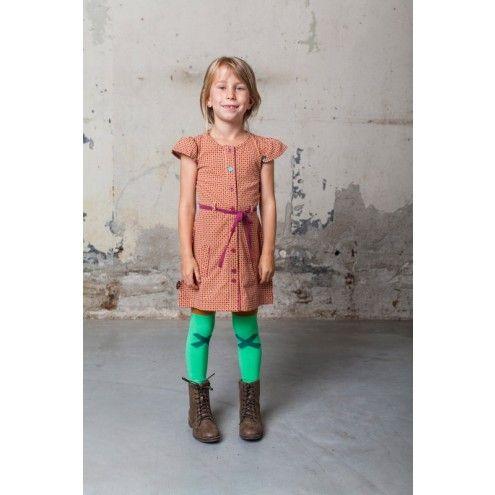 Buttons, jurkje (15W2450) | 4funkyflavours babykleding en kinderkleding shop