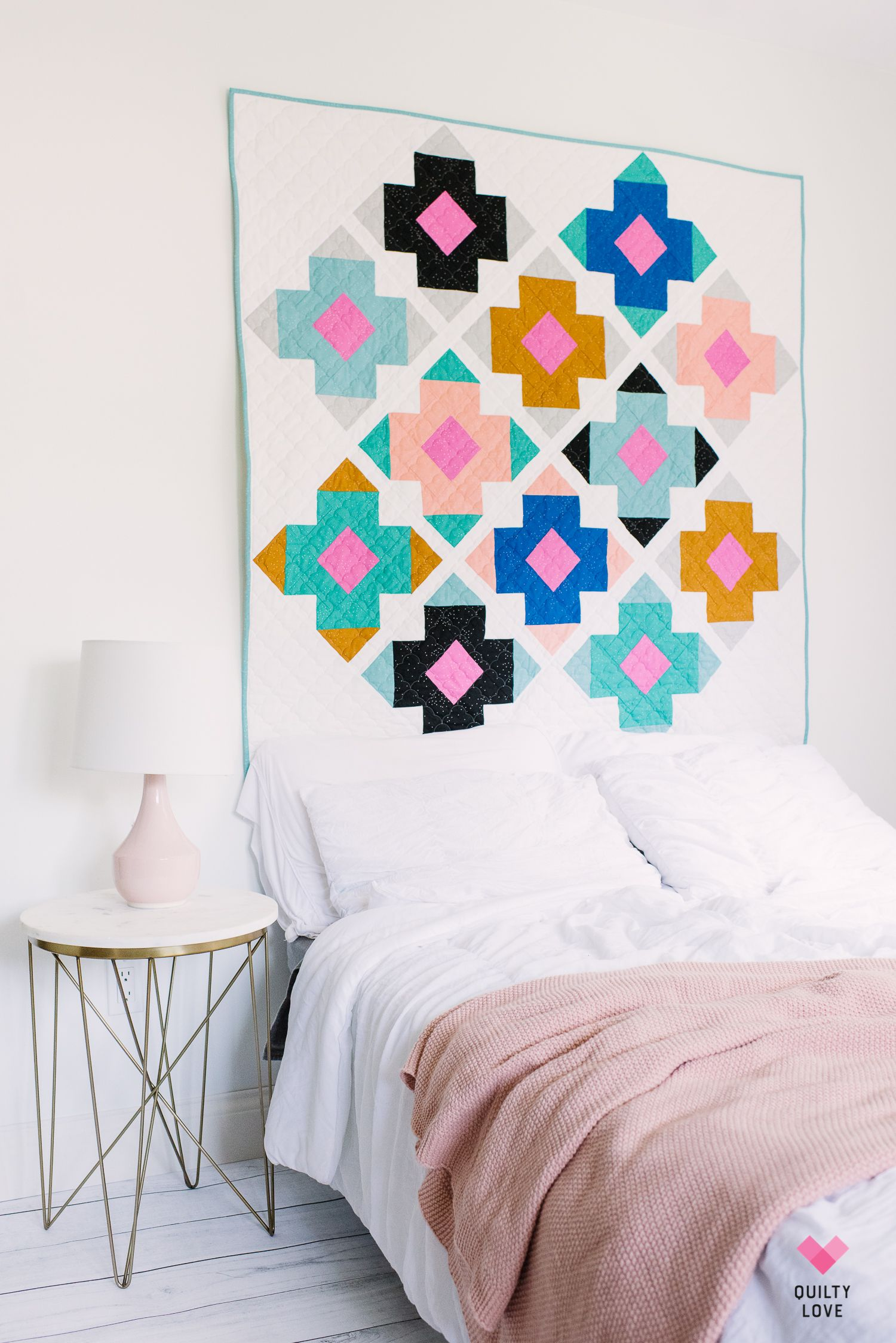 Modern Quilts Block by Block Book - Quilty Love #modernquiltingdesigns