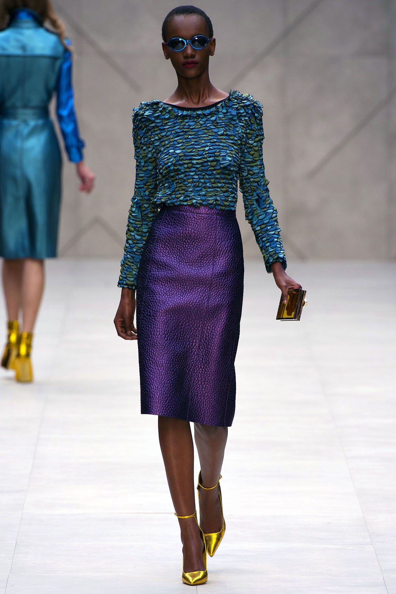 Burberry Spring 8 Ready-to-Wear Fashion Show  London fashion