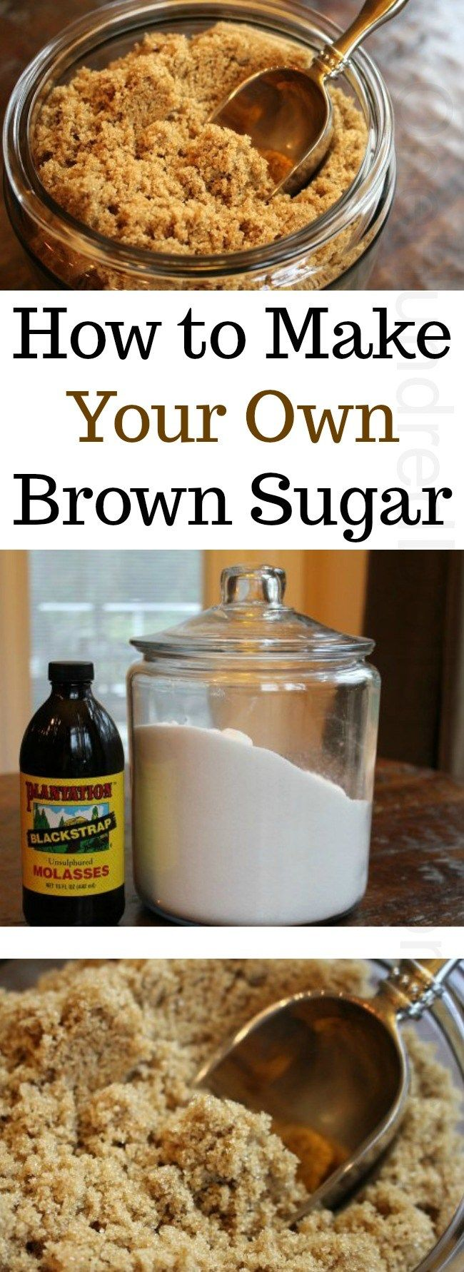 How to Make Your Own Brown Sugar - One Hundred Dollars a Month