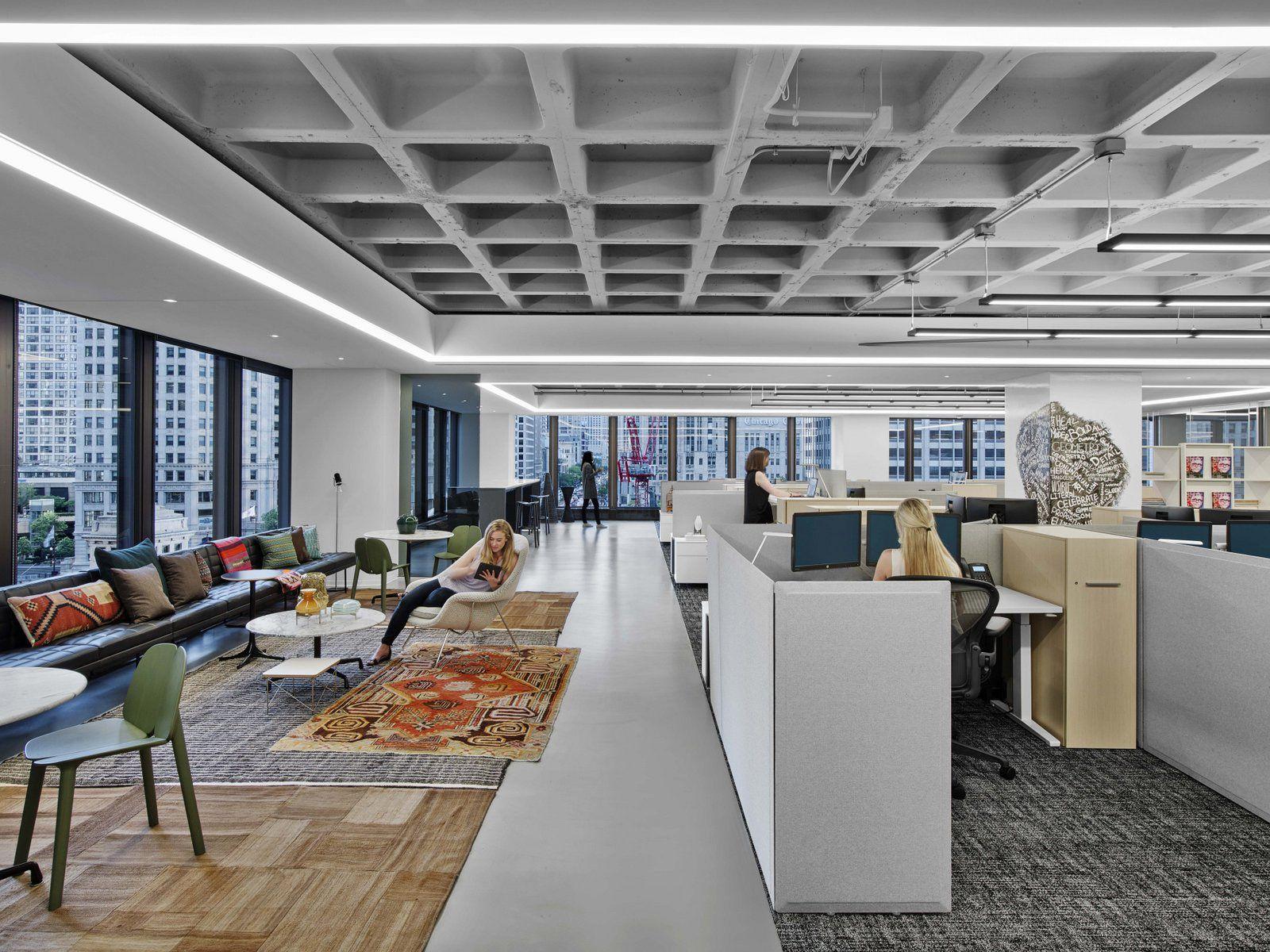 Office Tour Iida Headquarters Chicago International Interior Design Chicago Interior Design