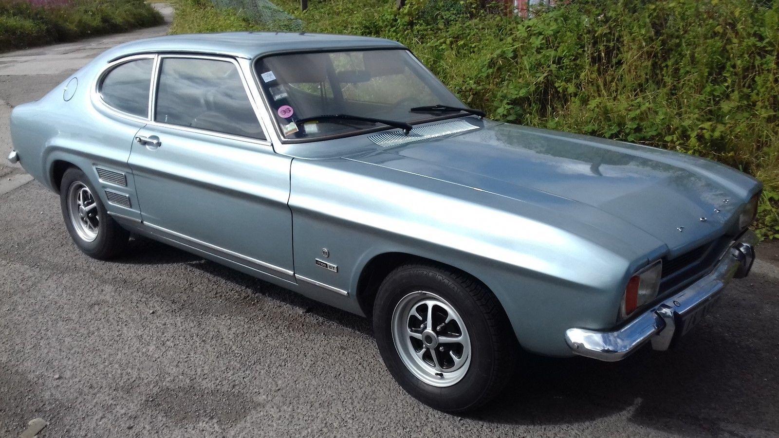 Ebay 1969 Ford Capri 1700 Gt Lhd Unbelievable Garage Find
