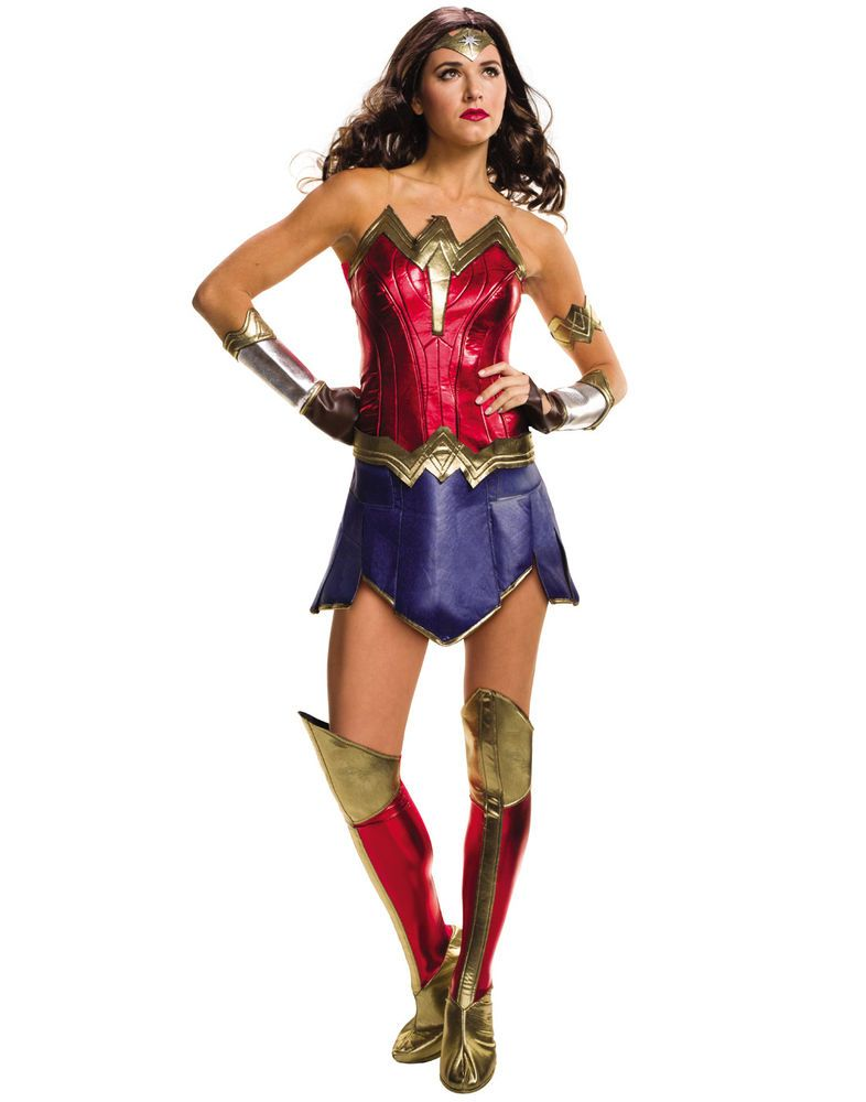 Adult Womens Wonder Woman Dawn of Justice Halloween Costume | eBay  sc 1 st  Pinterest & Adult Womens Wonder Woman Dawn of Justice Halloween Costume | eBay ...