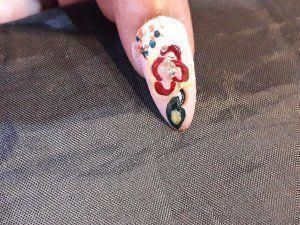 # artistic nails # Christmas nail art # disney nai