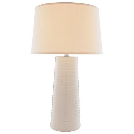 Lite Source Ivory Ceramic Table Lamp, Ivory Ceramic Table Lamps