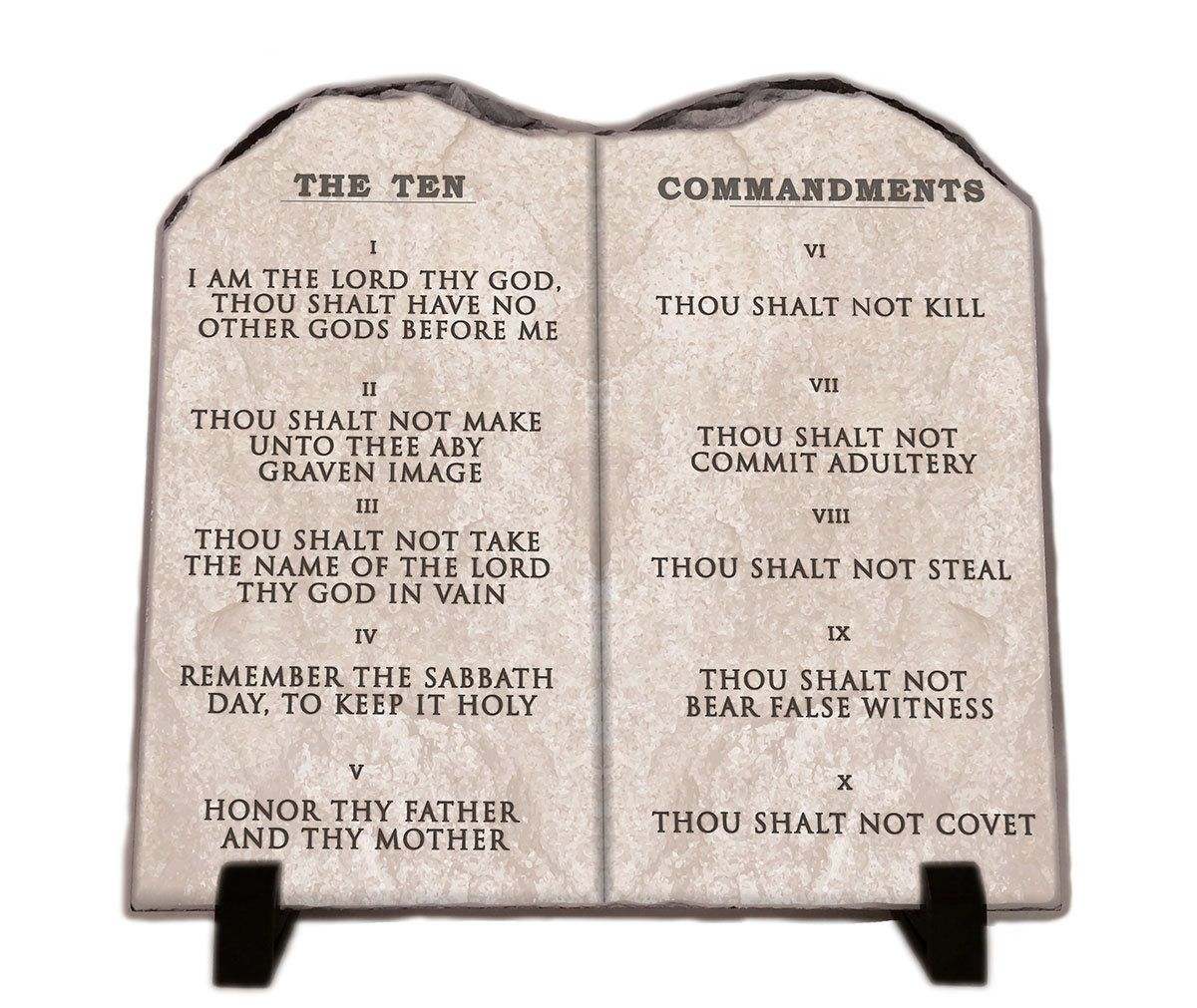 photo about Kjv Ten Commandments Printable named Pin upon InspiraGifts