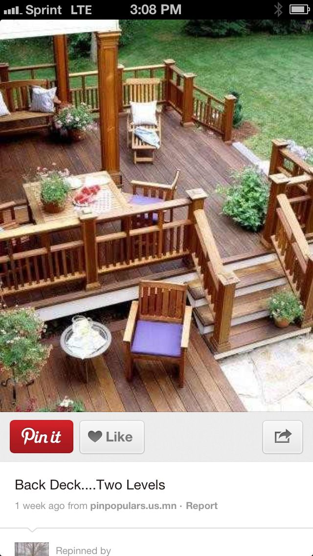 Deck idea