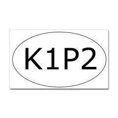 ovalSticker_K1P2 Sticker (Oval) Rib Pattern Sticker by
