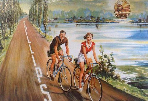 vintage phillips bicycle parts
