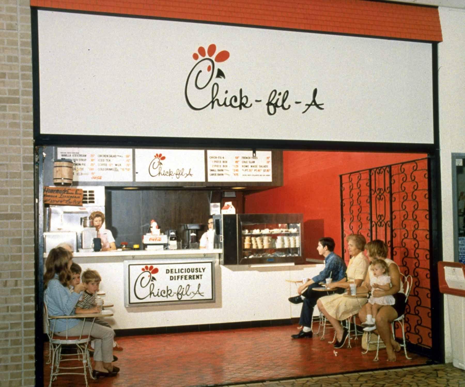 First Chick-fil a Restaurant