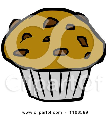 Cartoon Of A Muffin Royalty Free Vector Clipart By Lineartestpilot 1144805 Muffin Clipart Free Vector Clipart Clip Art