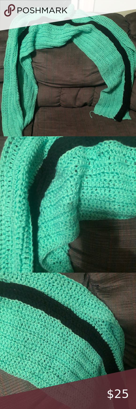 Photo of Knitted scarf wrap Knitted scarf ? wrap order any color knitted by ashley bou…
