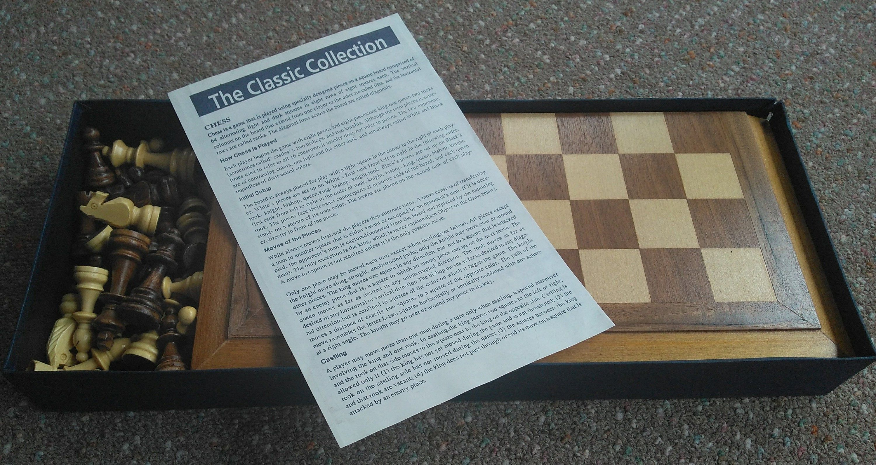 Vintage Wooden Chess Game Etsy in 2020 Wooden chess