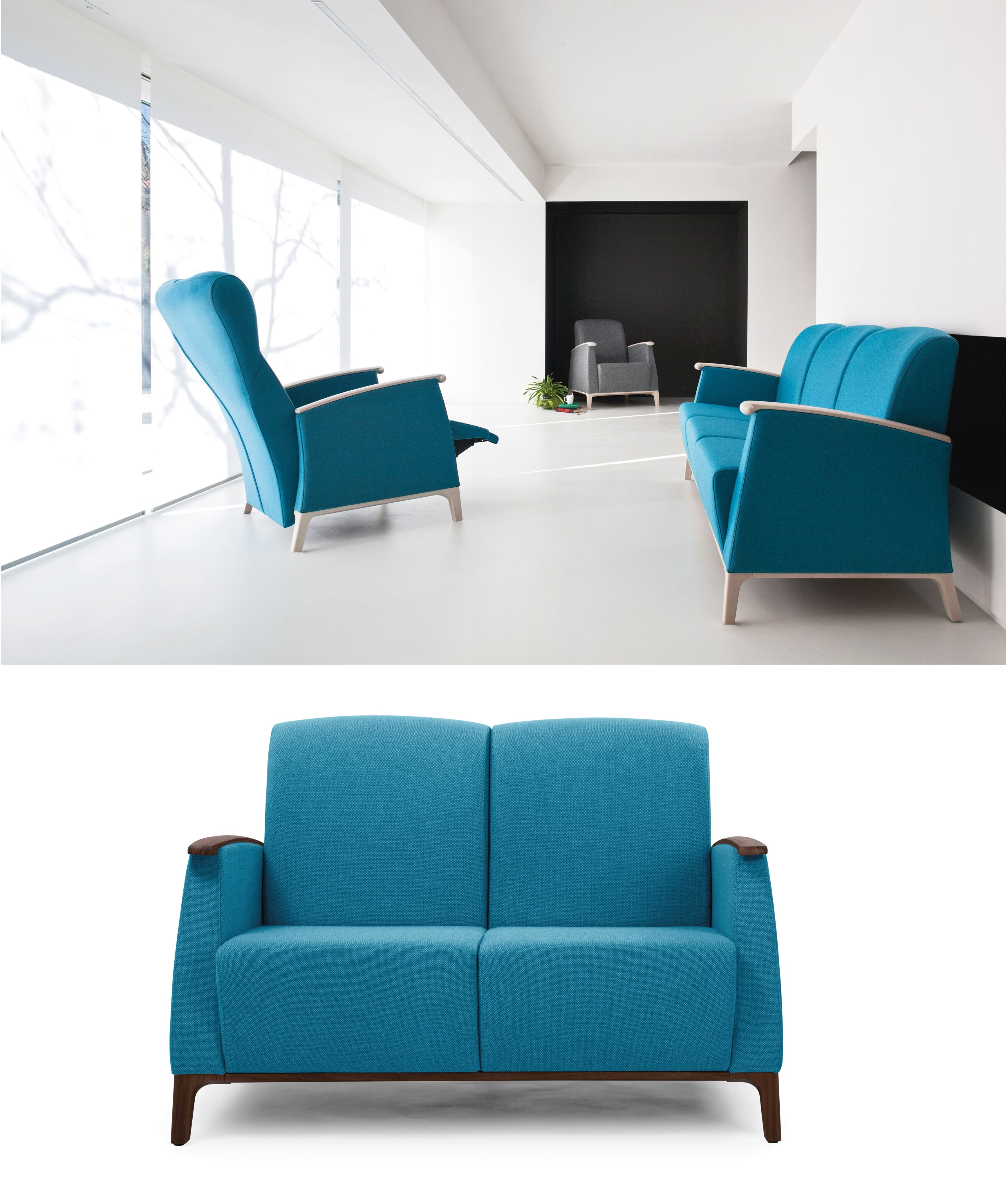 MAMY Collection Two seater fabric sofa Piaval
