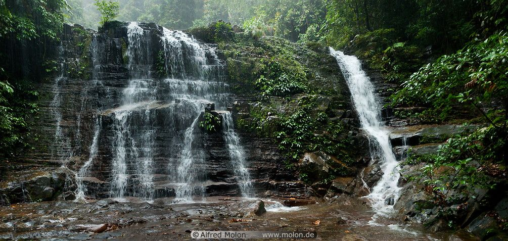 Waterfall Picture Kubah National Park Sarawak Malaysia Picture To Pin On Pinterest Pinsdaddy Waterfall Pictures National Parks Waterfall