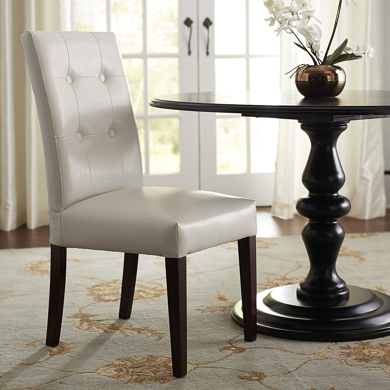 Mason Dining Chair Pure White Pier 1 Imports Outdoor