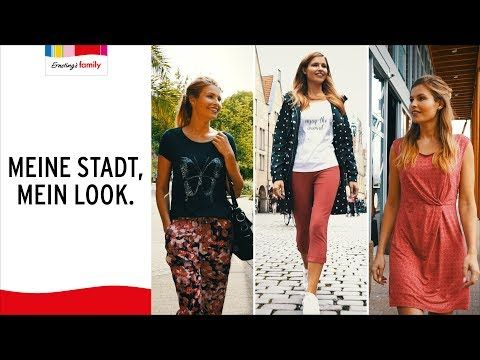Meine Stadt Mein Look Ernsting S Family Mode Youtube Fashion Sequin Skirt Skirts