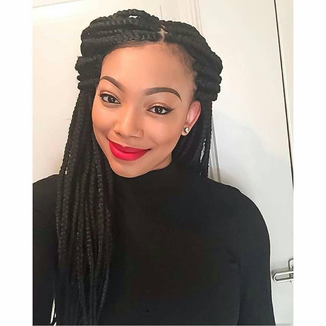 Box braids hot makeup  Hair u Makeup  Pinterest  Box braids