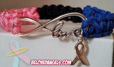 Paracord Love Bracelet – BelovedAngels $15