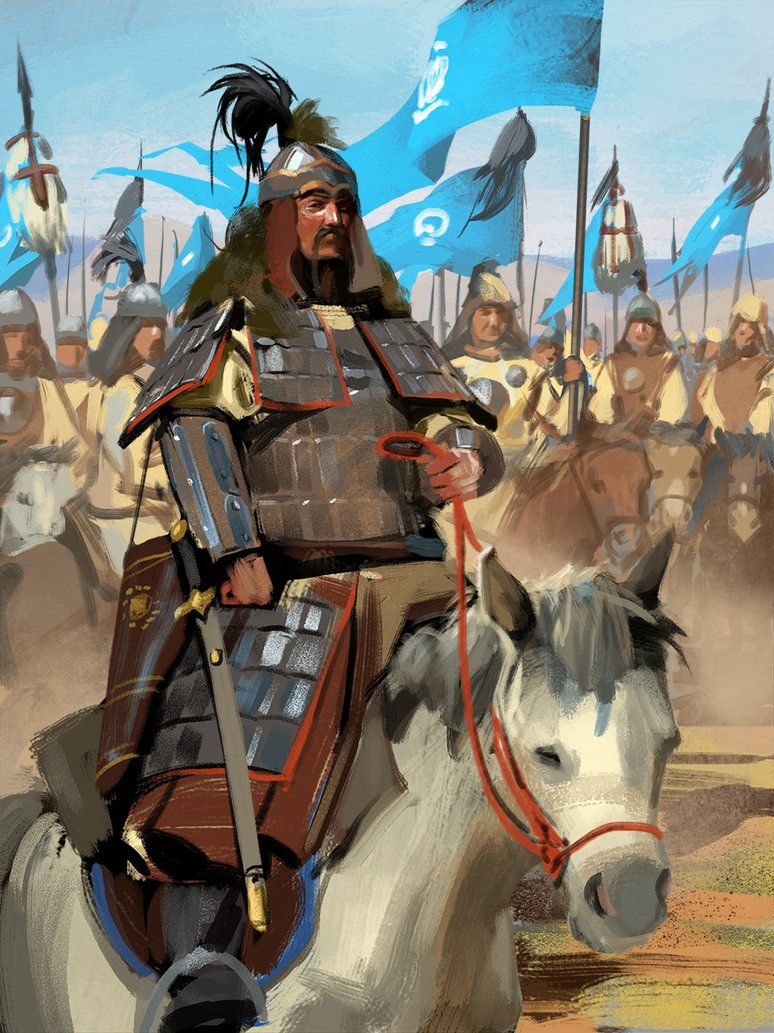 Genghis Khan By Pervandr 1206 To 1266 Historique Armures