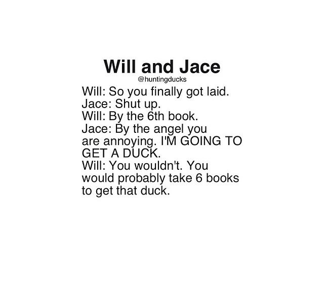Will and Jace • The Infernal Devices • The Mortal Instruments •