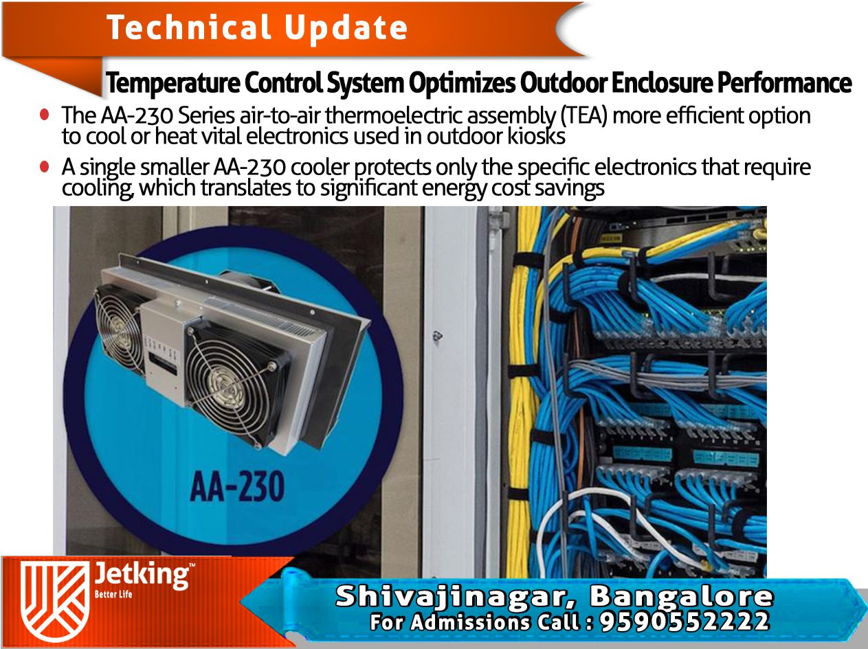 Temperature Control System Optimizes Outdoor Wiring Enclosure