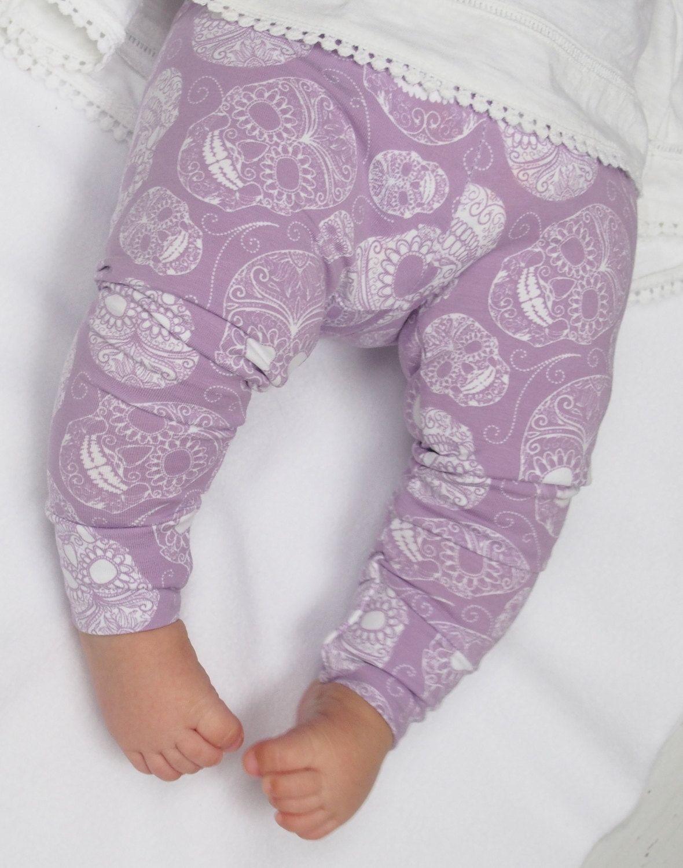 New to LottieandLysh on Etsy: Baby Leggings - Skull Baby ...