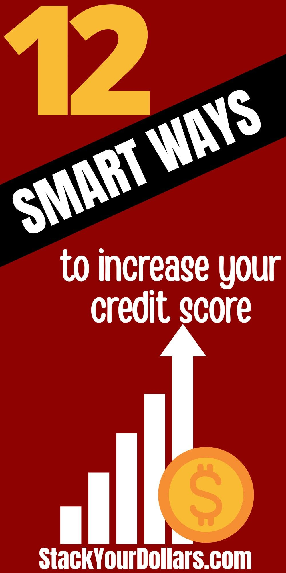 Smart credit repair tips that you can use to increase your credit score fast. A high credit score will lower the interest rate you'll pay on debts and much more. #StackYourDollars