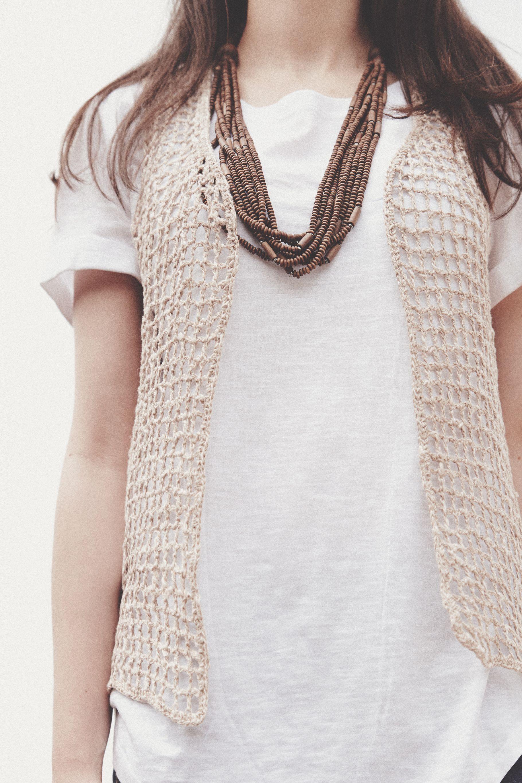 El Club del Patrón: Chaleco Janis | knitting milana bonita ...