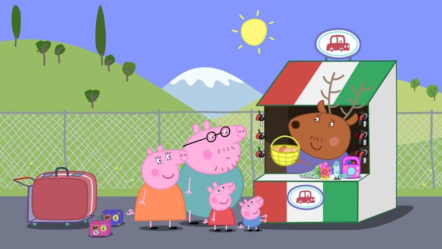 Картинка на рабочий стол свинка пеппа