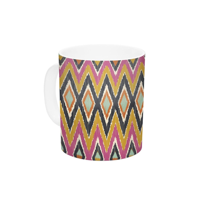 Sequoyah Tribals by Amanda Lane 11 oz. Ceramic Coffee Mug