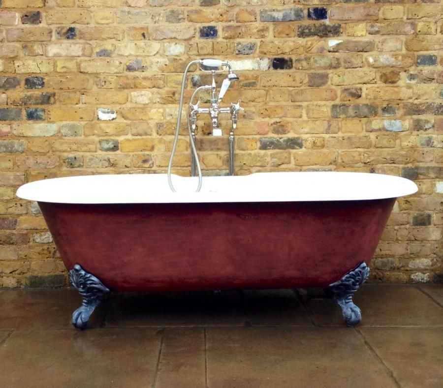 Reclaimed Cast Iron Bath With Eagle Claw Feet For Sale On Salvoweb