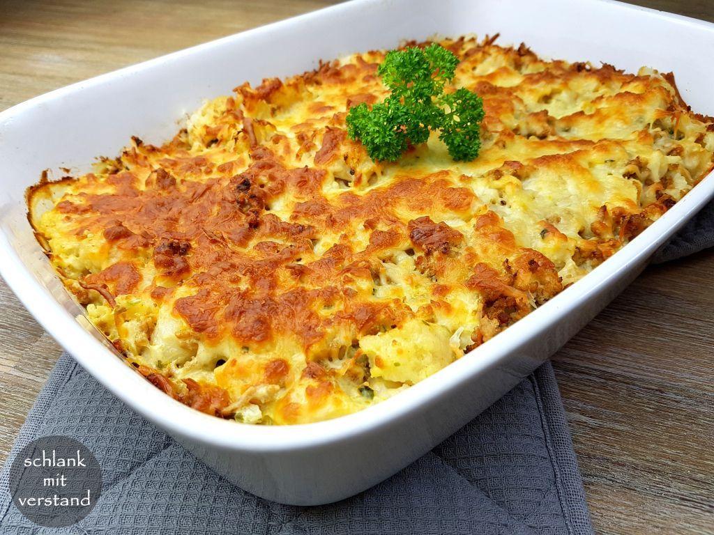low carb cauliflower casserole  slim with reason cauliflower auflauf rezept pizza recipes salad cauliflower