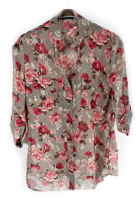 London Chiffon Shirt