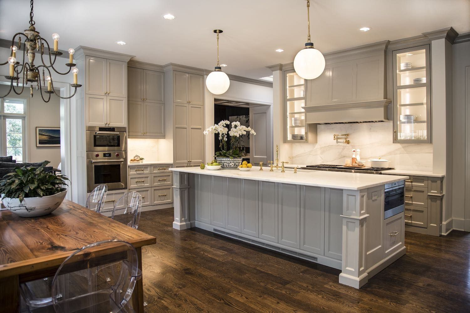 Amazing Grey Paint Olmos Park Kitchen Painted Cabinets Lacquered In Sherwin