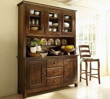 Something Similar To This For The Formal Dining Area Benchwright Enchanting Dining Room Buffet Hutch Design Decoration