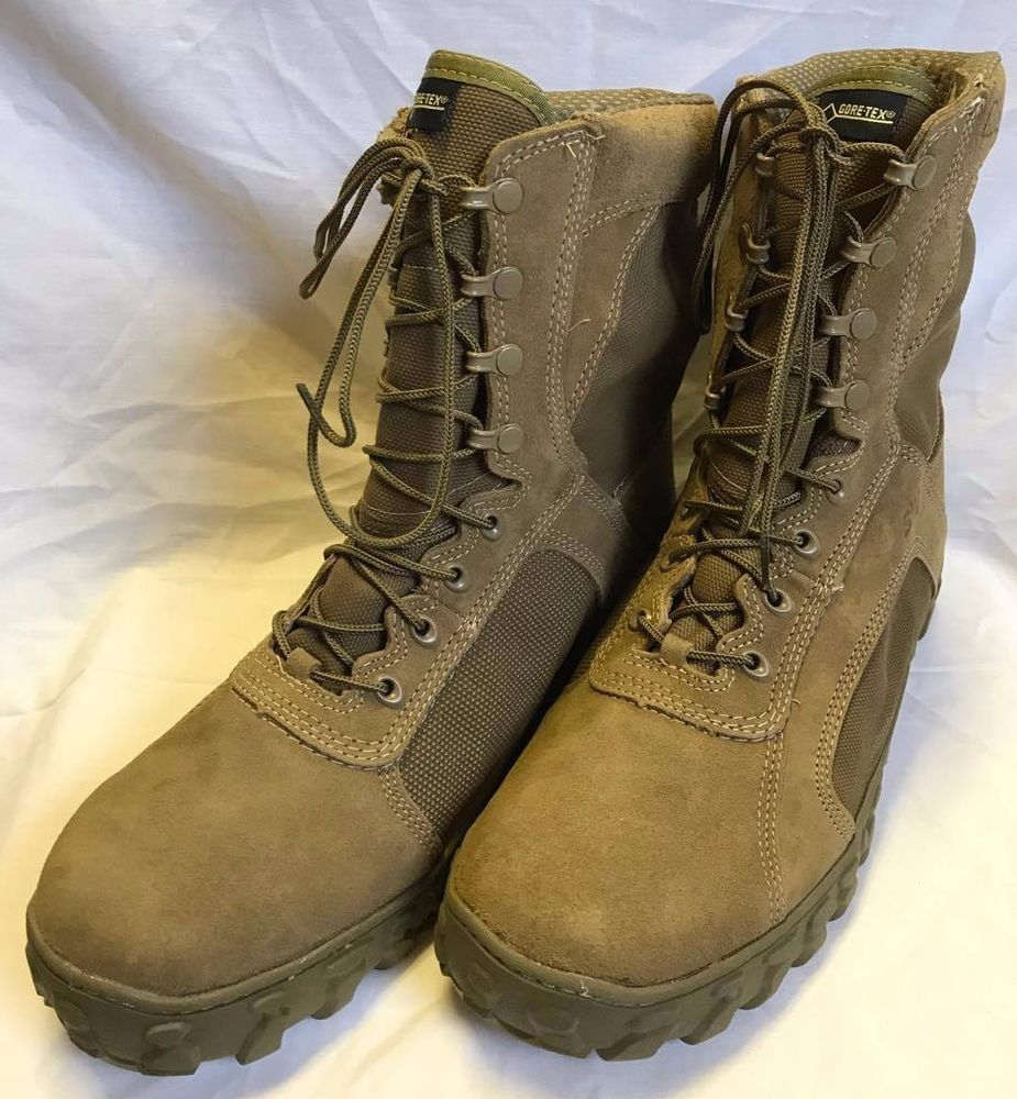 Rocky S2v Gore Tex Waterproof 400g Insulated Military Boot Coyote Brown 14 R Rocky Military